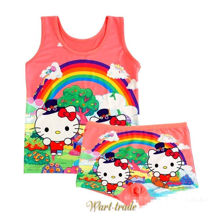 9dbe664c6 NOVINKY   Detská bavlnená súprava Hello Kitty růžová   , hračky ...